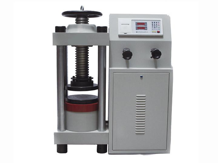YES-2000数显式压力试验机(手动)
